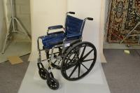 WRP has a few wheel chairs that can be used as dollies on short films. The low budget dolly.
